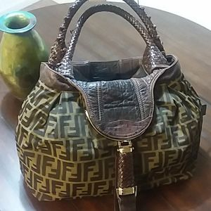 FENDI SPY BAG-Modern Take on Classic!!